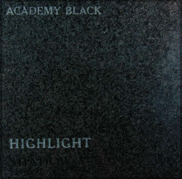Academy Black Headstone Color
