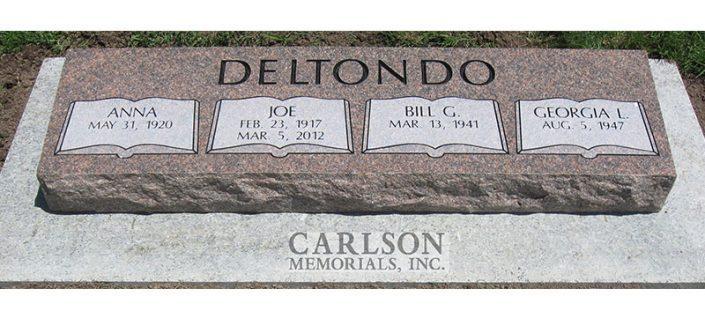 bevel headstones