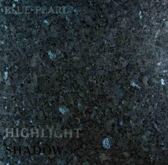 Blue Pearl Headstone Color