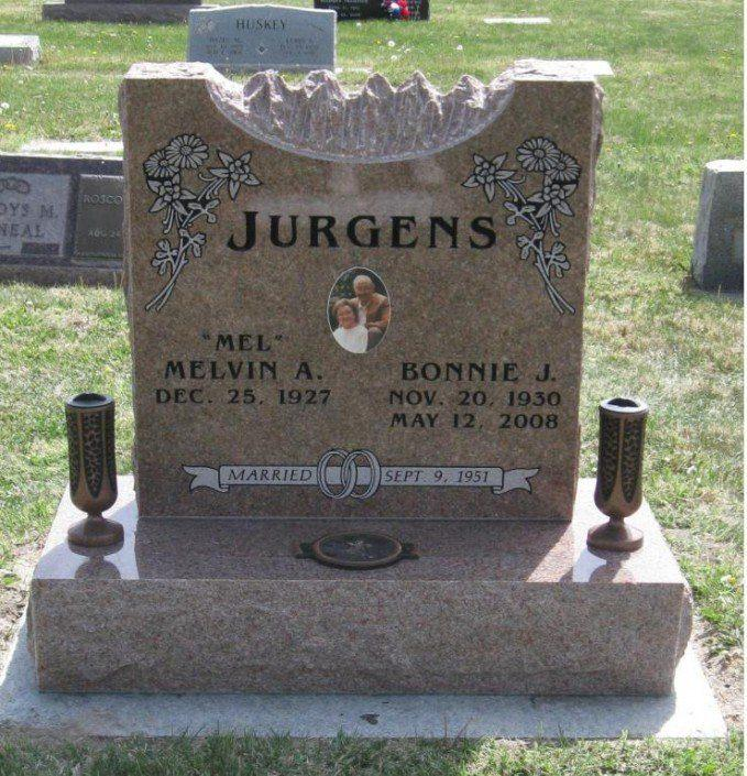 cremation headstone in aurora co