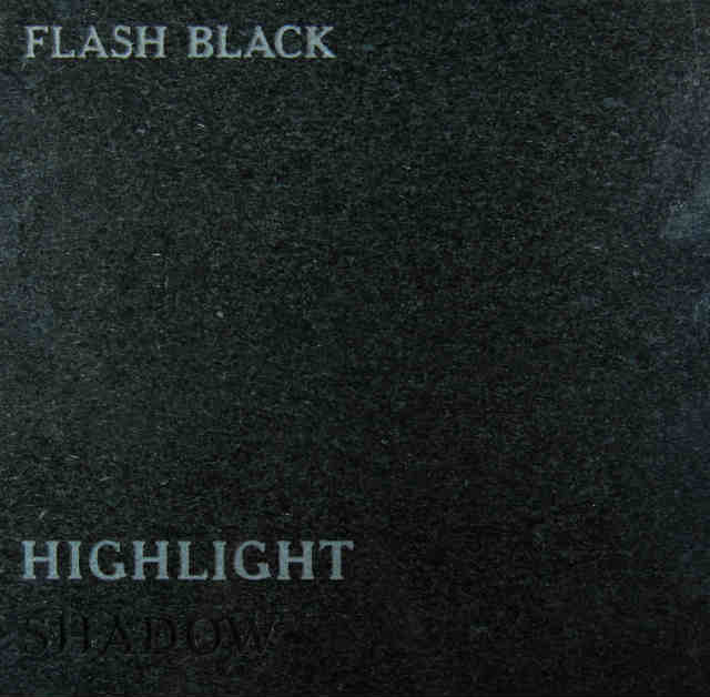 Flash Black Headstone Color