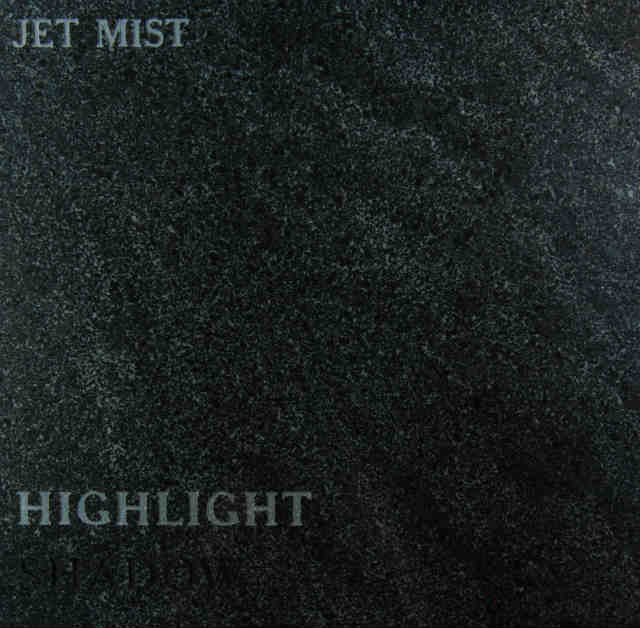 Jet Mist Headstone Color