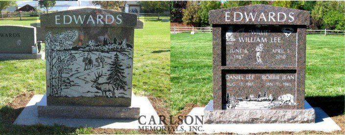 cremation headstone in vail co