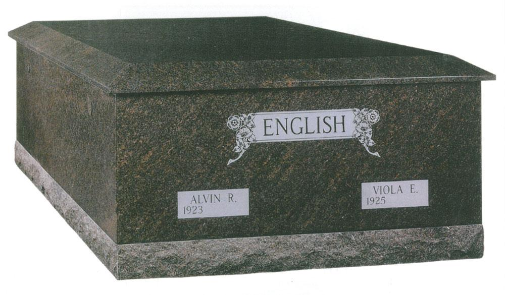 Custom Designed Mausoleum for the English Family