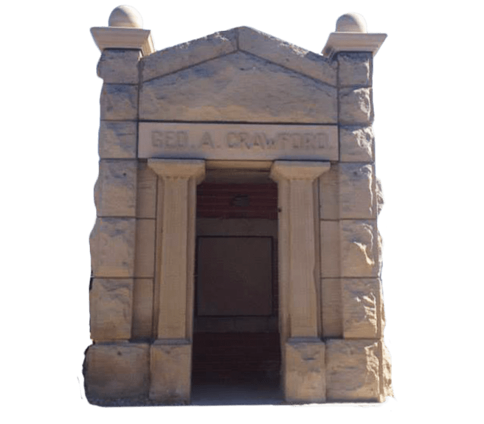 Custom Designed Mausoleums for the Crawford Family