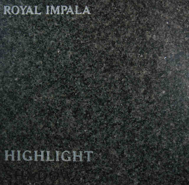 Royal Impala Headstone Color