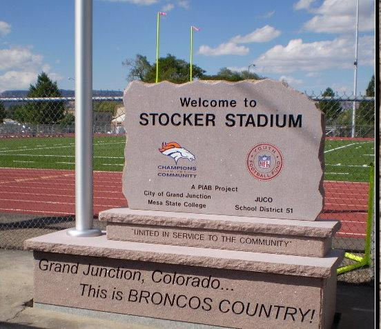 commercial stone signs in grand junction co