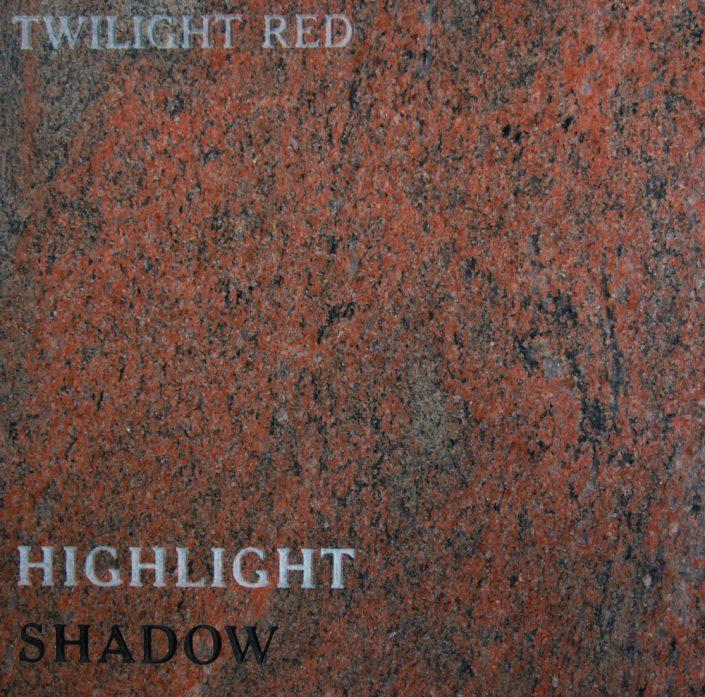Twilight Red Headstone Color