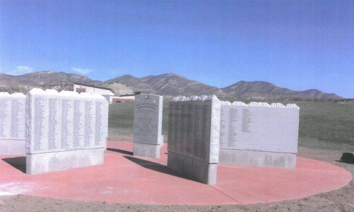 Military Memorial in Colorado