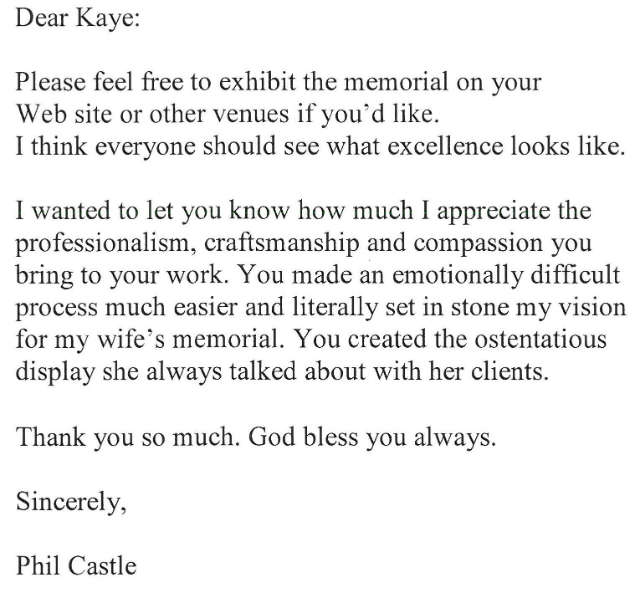 email from Castle