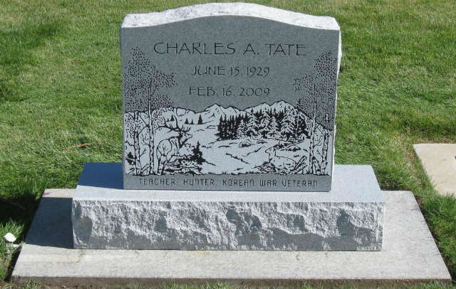 tablet headstone