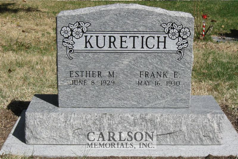 Tablet headstones