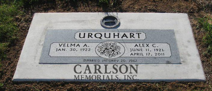 flat grave markers