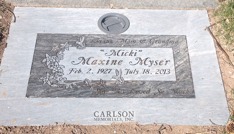 GM224: Silver Cloud custom designed flat marker for the Myser family
