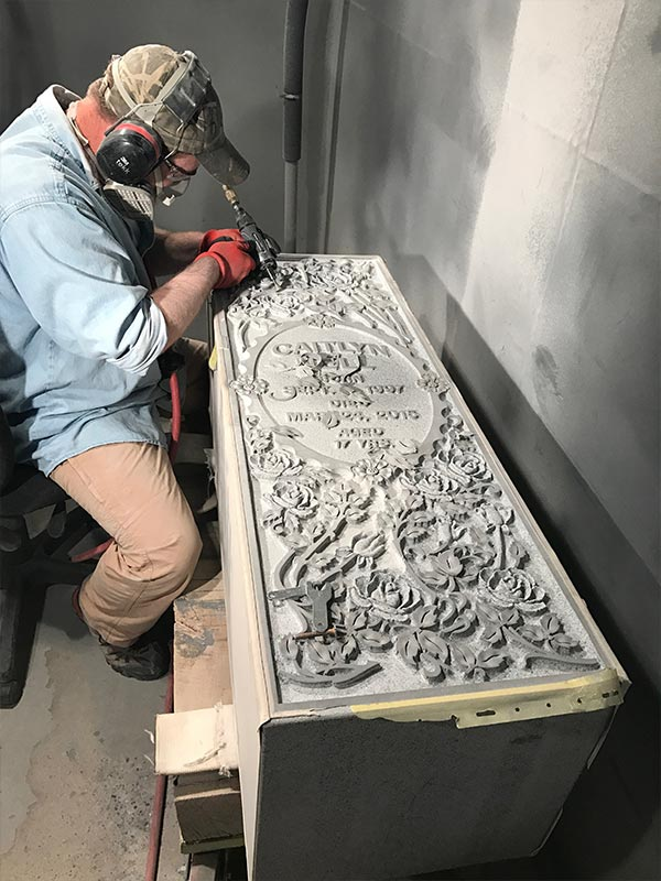 stone etcher in grand junction