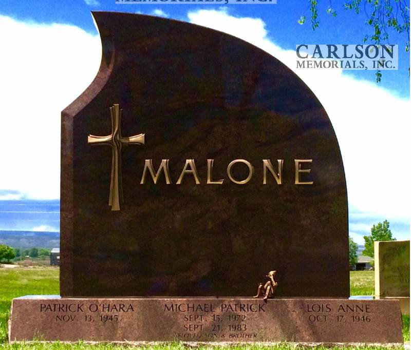 TD059: Autumn Brown Custom Designed Companion Tablet for the Malone Family