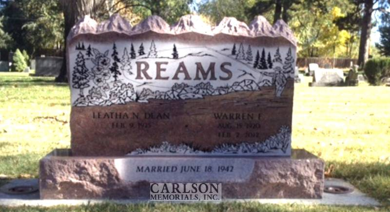TD094: Colorado Rose Red Custom Designed Companion Tablet for the Reams Family