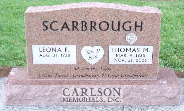 TD171: Morning Rose Custom Designed Companion Tablet for the Scarbrough Family